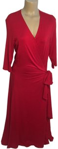 Red Maxi Dress by J. Peterman