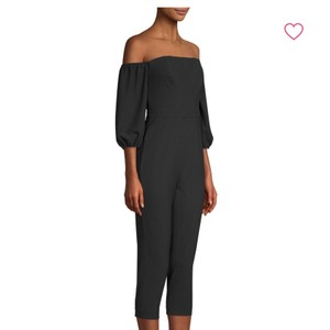 BCBGMAXAZRIA One Piece Off Shoulder Onesie Dress