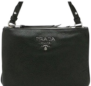 Prada Handbag Woman Leather Cross Body Bag
