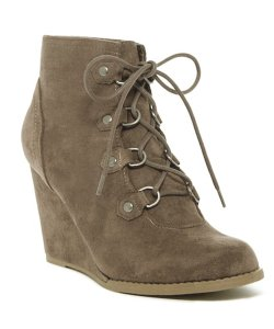 Madden Girl Suede Tan Brown Boots