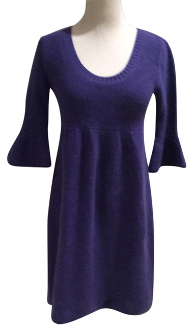 Item - Easy Cashmere Mid-length Short Casual Dress Size 2 (XS)
