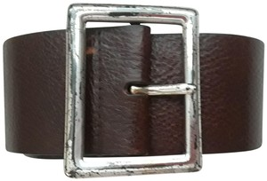 Anne Klein Thick leather belt (S)