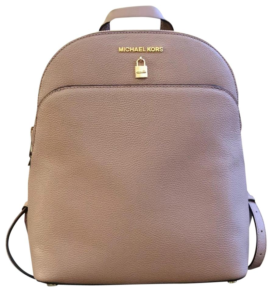 9fb4f9c79581 Michael Kors Adele Large Fawn Leather Backpack - Tradesy