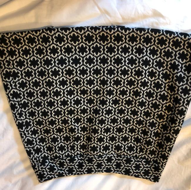 MILLY Mini Skirt black and ivory Image 1