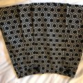 MILLY Mini Skirt black and ivory Image 2