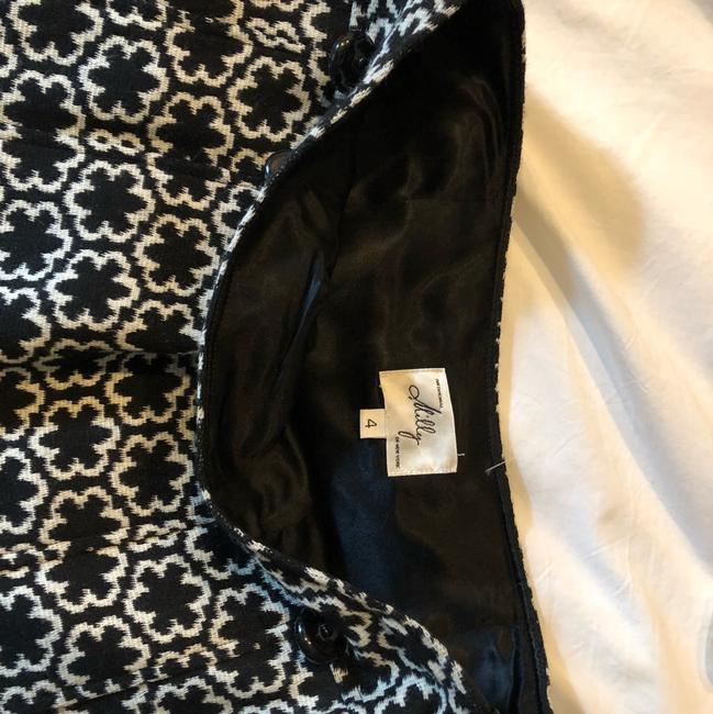 MILLY Mini Skirt black and ivory Image 4