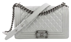 Chanel Calfskin Flap Shoulder Bag