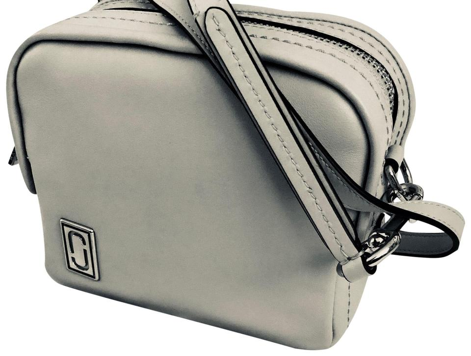 931efa94104d Marc Jacobs The Mini Squeeze M0013620 Grey Calf Leather Cross Body ...