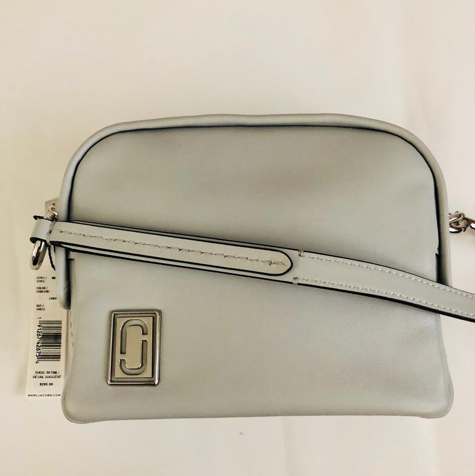 8cf51e898b8b Marc Jacobs The Mini Squeeze M0013620 Grey Calf Leather Cross Body ...