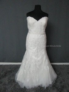 Maggie Sottero Ivory Lace Winstyn 5ms694 Feminine Wedding Dress Size 24 (Plus 2x)