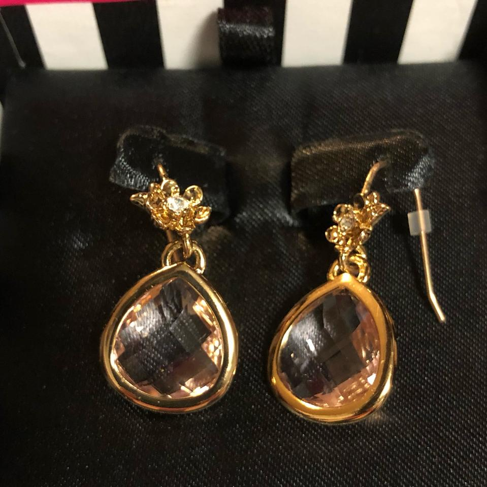 Juicy Couture E Faceted Teardrop Earning