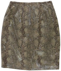 Harvé Benard Classic Sequin Party Skirt Black