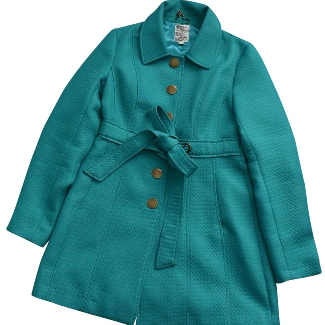 Preload https://img-static.tradesy.com/item/24379494/tulle-teal-lightweight-jacket-size-12-l-0-1-650-650.jpg
