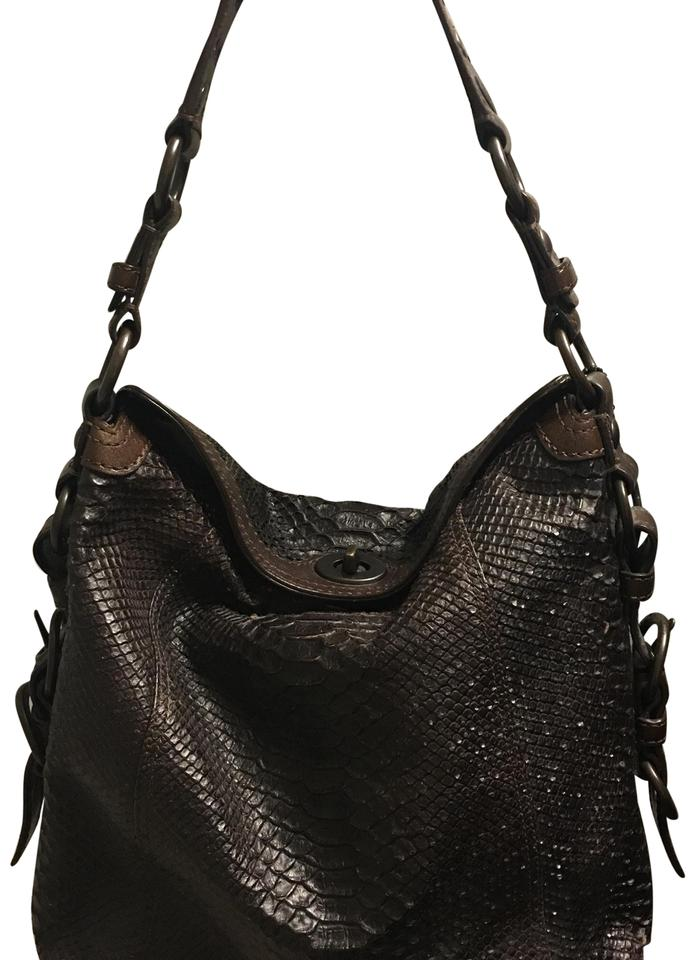 79034aa33c34 Coach Brown Leather Shoulder Bag - Tradesy
