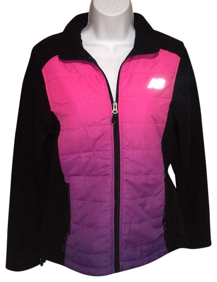 3e7f05069b8c New Balance Black and Pink Ombre Activewear Size 4 (S) - Tradesy