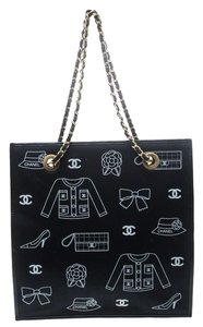 Chanel Canvas Tote in Blue