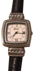 Brighton reversible leather band watch