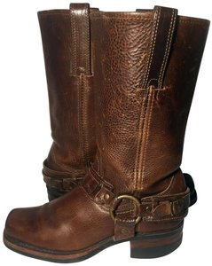 Frye 77250 Belted Women Size 6.5 Size 6.5 Brown Boots