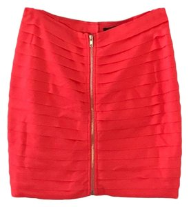 Foreign Exchange Mini Skirt coral