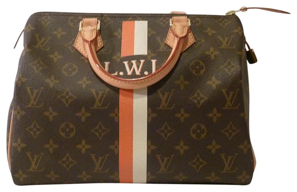 7b47a9cb6268 Louis Vuitton Speedy 30 Mon Monogram Brown Canvas Tote - Tradesy