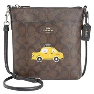 Coach Brown Multi Messenger Bag