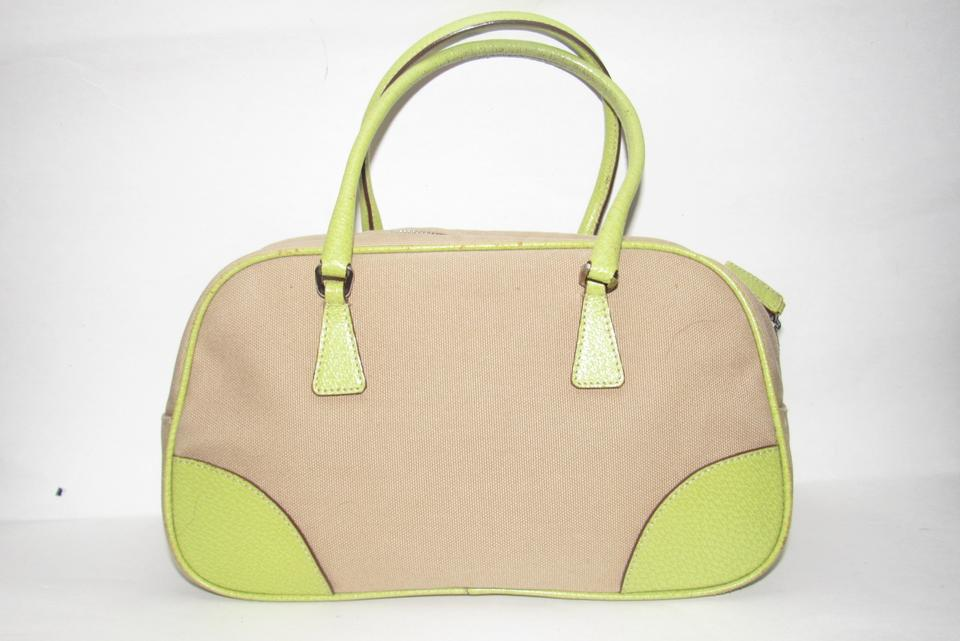 991037025cb0a4 Prada Accents Mint Vintage Satchel/Bowling Great For Everyday High-end  Bohemian Satchel in. 123456789101112