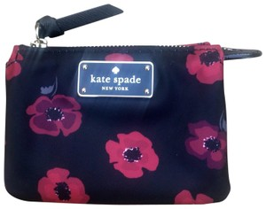 Kate Spade Coin Purse Black/Red 098687235587 Wristlet in Black/Red