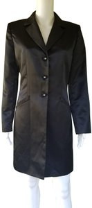 Le Suit Evening Satin Trench Coat