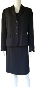 STRENESSE NWT STRESA Black Striped 3 pc Career Skirt Suit 10