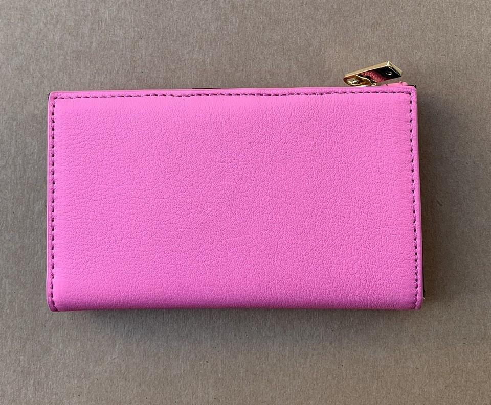 New Kate Spade Mikey Blake Street Dot Leather wallet Marguerite Bloom