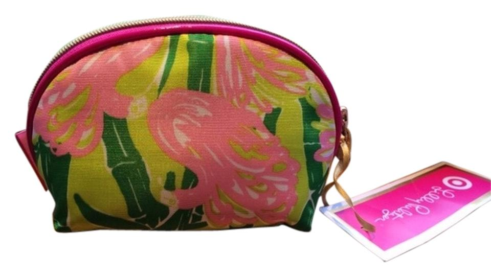 Lilly Pulitzer For Target Fan Dance Round Top Clutch