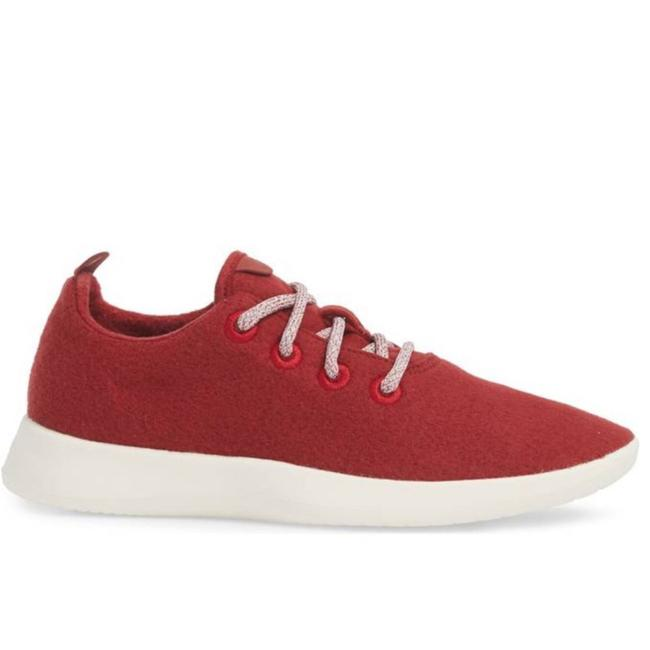 Item - Red White Ou Sooners Wool Runners Sneakers Size US 8 Regular (M, B)
