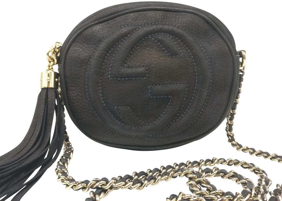 b9aa85098b62 Gucci Soho Disco Chain Nubuck Leather Cross Body Bag - Tradesy