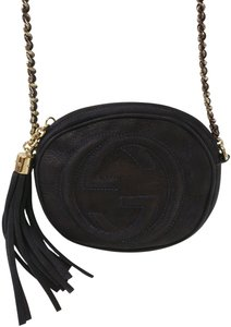 Gucci Soho Chain Disco Leather Cross Body Bag