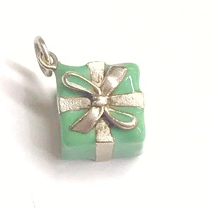 Tiffany & Co. VERY RARE!! GENTLY USED!! Tiffany & Co. Sterling Silver And Enamel Gift Box Charm Sterling Silver 100% Authentic Guaranteed!!!