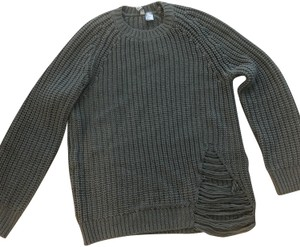 H&M Distressed Distressed Ribbed Sweater