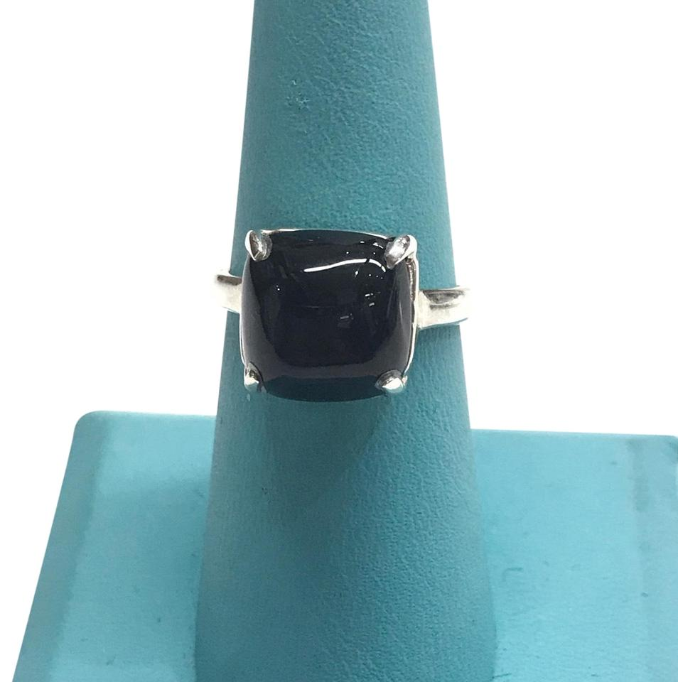547eaa2b8 Tiffany & Co. Gently Used Sterling Silver Paloma Picasso Black Onyx ...