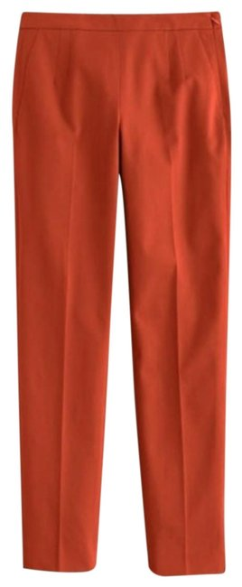Item - Rust / Cooper Mattie Slim Crop Pant Two Way Stretch Capris Size 4 (S, 27)