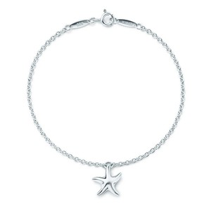 """Tiffany & Co. RARE LENGTH!!! Tiffany & Co. Elsa Peretti Sterling Silver Starfish Bracelet Sterling Silver 8"""" 100% Authentic Guaranteed!!! Comes with Tiffany Pouch and Tiffany Blue Colored Polishing Cloth!!"""