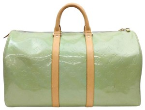Louis Vuitton Blue/Green Travel Bag
