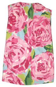 Lilly Pulitzer short dress Pink blue green white First Impressions Rose Mini on Tradesy