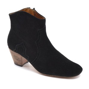 Isabel Marant Made In France Dicker Ankle Black Boots