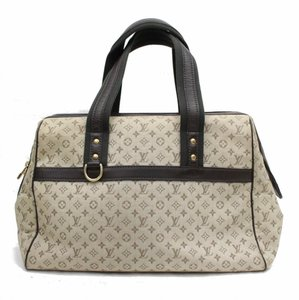 Louis Vuitton Josephine Mini Lin Satchel in Monogram Idylle