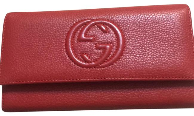 Item - Red Soho Continental Wallet