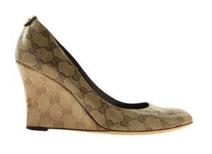Gucci Brown Wedges