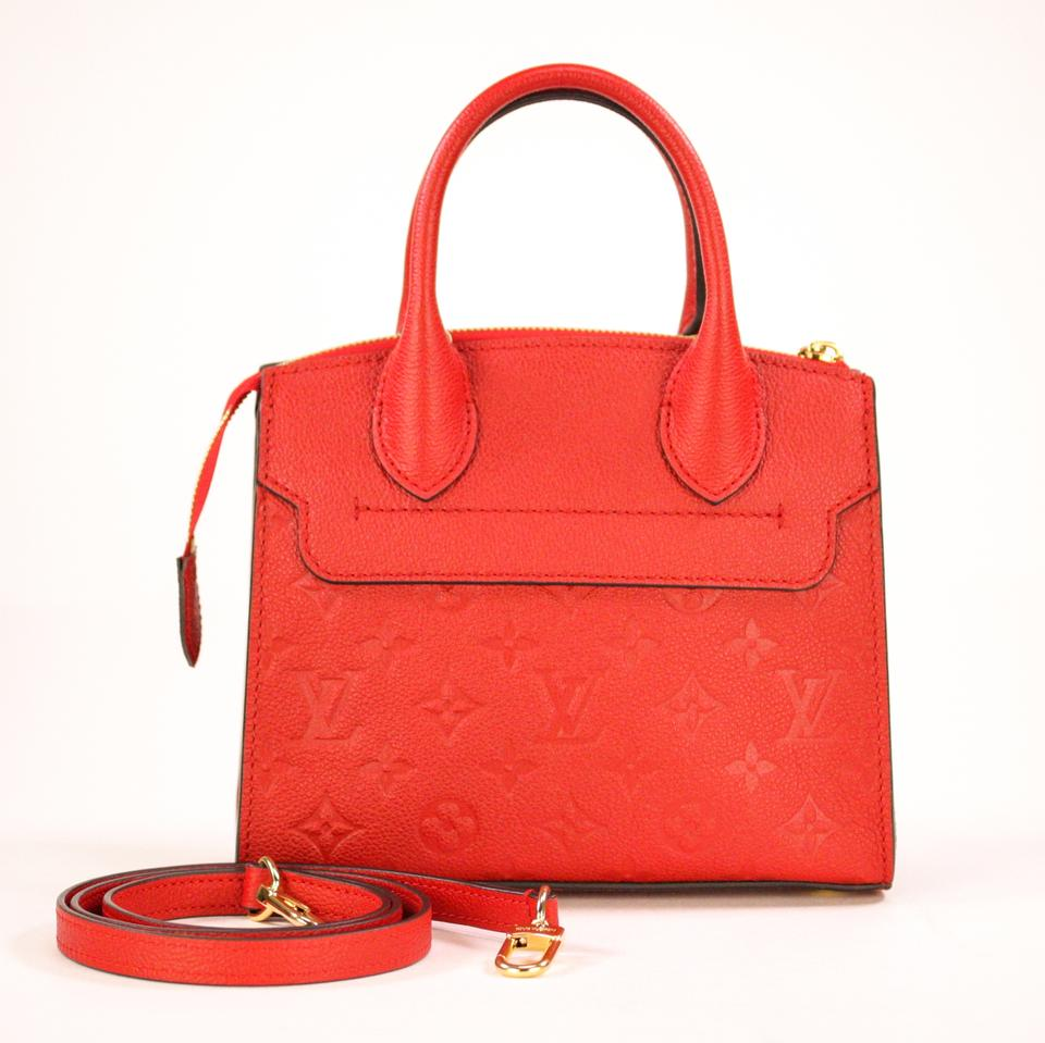 34d1f15c Louis Vuitton Pont-Neuf Mini Red Cowhide Leather Tote 12% off retail