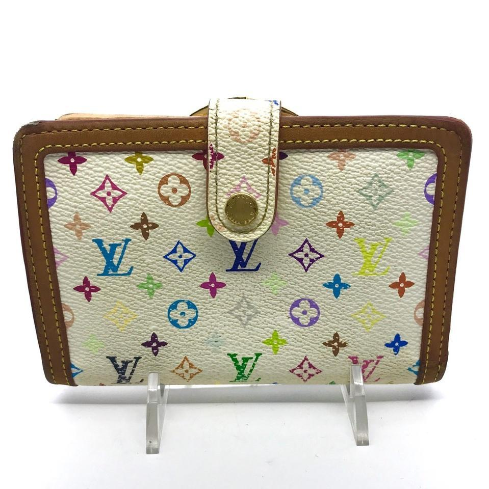 Louis Vuitton Louis Vuitton Monogram Multicolor French Purse Kisslock Wallet  ... 0b55c14e847