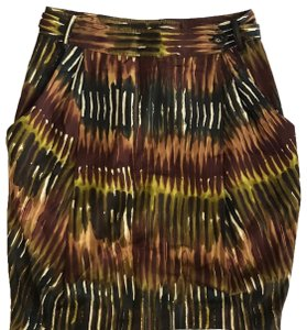 Rachel Roy Signature Mini Skirt Brown