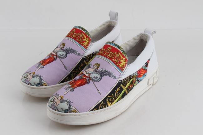 Item - Multicolor Angeli Print Slip-on Canvas Sneakers Shoes