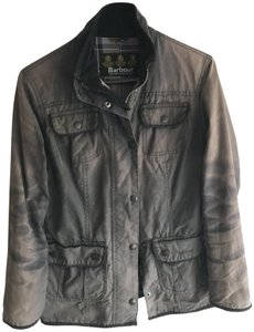 Barbour Waxed Womens Classic Chocolate Brown Jacket